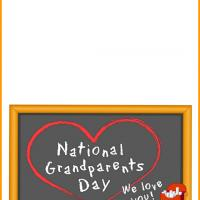Printable National Grandparent's Day - Printable Greeting Cards - Free Printable Cards
