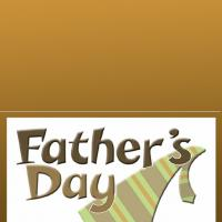 Printable Necktie - Printable Fathers Day Cards - Free Printable Cards