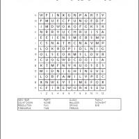 Printable New Year Word Search - Printable Word Search - Free Printable Games
