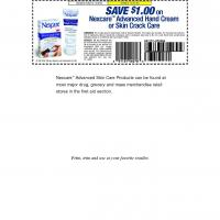 Nexcare Save $1 on Advanced Handcare Cream or Skin Crack Care