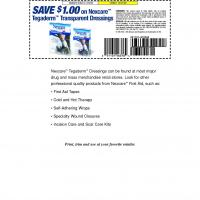 Nexcare Save $1 on Tegaderm Transparent Dressing