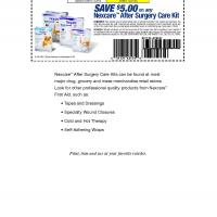 Printable Nexcare Save $5 on Any After Surgery Care Kit - Printable Grocery Coupons - Free Printable Coupons