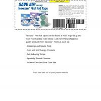 Nexcare Save $.55 on Any First Aid Tape