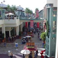 Open Mall Scene