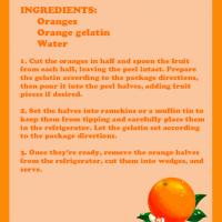 Printable Orange Gelatin - Printable Recipes - Free Printable Activities
