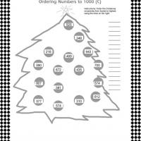 Printable Ordering Numbers Worksheet - Printable Classroom Lessons - Free Printable Lessons