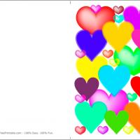 Printable Out Of All The Hearts In The World - Printable Valentines - Free Printable Cards