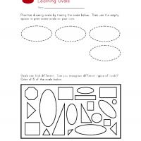 Printable Oval Worksheet - Printable Preschool Worksheets - Free Printable Worksheets