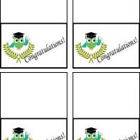 Owl Graduate Gift Cards