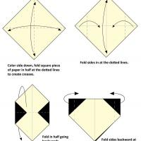 Printable Panda Origami - Paper Crafts - Free Printable Crafts