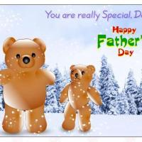 Printable Papa And Baby Bear - Printable Fathers Day Cards - Free Printable Cards