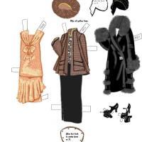 1920s Paper Doll Dress 4