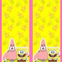Patrick and Spongebob Bookmark