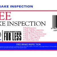 Pepboys Free Brake Inspection