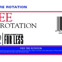 Pepboys Free Tire Rotation