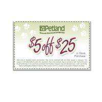 Petland $5 Off $25