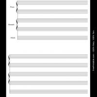 Printable piano and organ duet - Printable Sheet Music - Free Printable Music