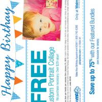 Printable PictureMe Free Custom Portrait Collage Coupon - Printable Discount Coupons - Free Printable Coupons