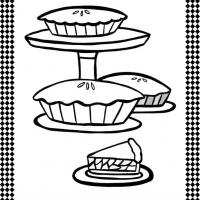Printable Pies Flash Card - Printable Flash Cards - Free Printable Lessons