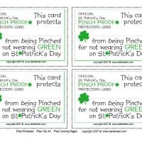 Pinch Proof Coupon For St. Patrick's Day