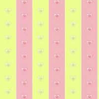 Pink and Yellow Green Stripes