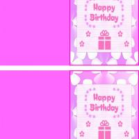 Pink Present Gift Card