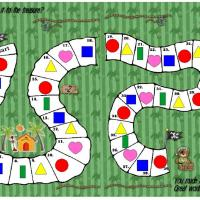 Printable Pirate Bear Treasure Board Game - Printable Board Games - Free Printable Games