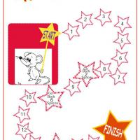Printable Play Time Stars Board Game - Printable Board Games - Free Printable Games