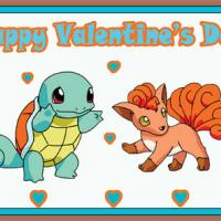 Pokemon Squirtle And Vulpix Postcards