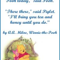 Pooh and Piglet Friendship Quote