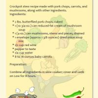 Printable Pork Stew Recipe - Printable Recipes - Free Printable Activities