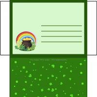 Printable Pot Of Gold Envelope - Printable Card Maker - Free Printable Cards