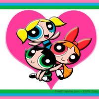 Powerpuff Girls Valentine Postcards