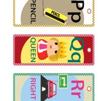 Printable PQR Lesson Bookmarks - Printable Bookmarks - Free Printable Crafts