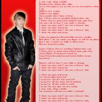 Printable Pray by Justin Bieber Lyrics - Printable Sheet Music - Free Printable Music