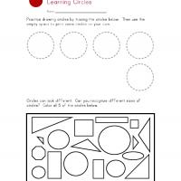 Printable Circle Worksheet - Printable Preschool Worksheets - Free Printable Worksheets