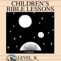 Printable Kinder Bible Study: Creation - Printable Church Worksheets and Lessons - Free Printable Worksheets
