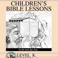 Printable Kinder Bible Study:  Noah of Ark - Printable Church Worksheets and Lessons - Free Printable Worksheets