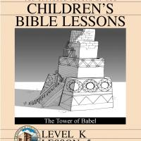 Kinder Bible Study: Tower of Babel
