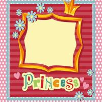 Printable Princess Frame Scrapbook - Printable Scrapbook - Free Printable Crafts