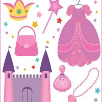 Printable Princess Scrapbook - Printable Scrapbook - Free Printable Crafts