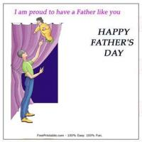 Printable Proud For Dad - Printable Fathers Day Cards - Free Printable Cards