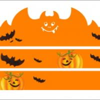 Printable Pumpkin and Bat Halloween Decor - Printable Photos - Free Printable Pictures