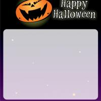 Printable Pumpkin Moon Shining on the Graveyard - Printable Stationary - Free Printable Activities