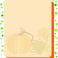 Pumpkin Stationary