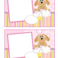 Printable Puppy Frame Scrapbook - Printable Scrapbook - Free Printable Crafts