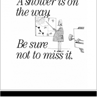 """Shower Is On the Way"" Baby Shower Invitation"