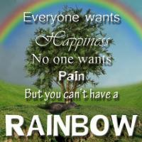 Rainbow After Rain Motivational Quotes