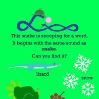 Printable Reading: Snake Snoop - Printable Preschool Worksheets - Free Printable Worksheets