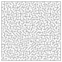 Printable Rectangle Maze - Printable Mazes - Free Printable Games